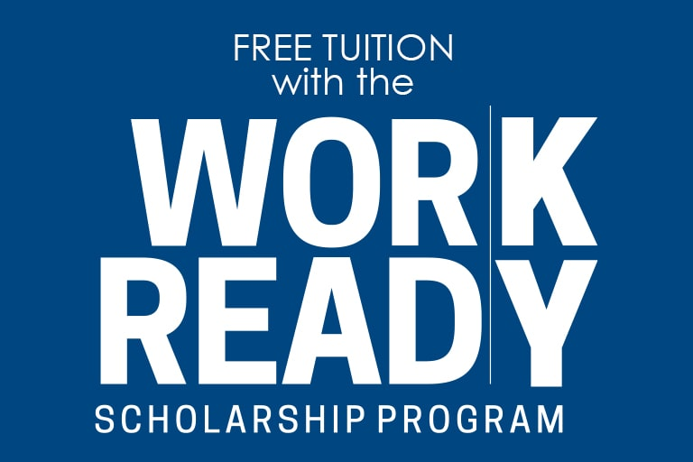 Free Tuition with the Work Ready Scholarship Program